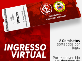 INGRESSO VIRTUAL: Inter SM x São Gabriel