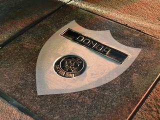 Donga é eternizado na Calçada da Fama