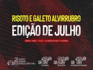 DRIVE THRU: 12º Risoto e Galeto Alvirrubro