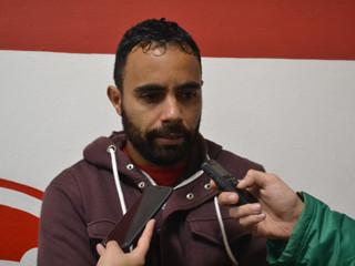 Jogadores participaram de entrevista coletiva
