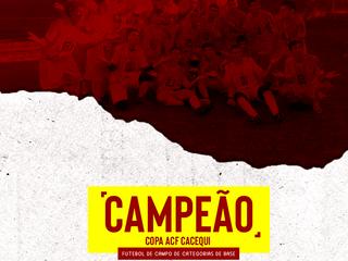 INTER SM É CAMPEÃO DA COPA ACF CACEQUI