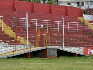 Estádio Presidente Vargas passa por reformas