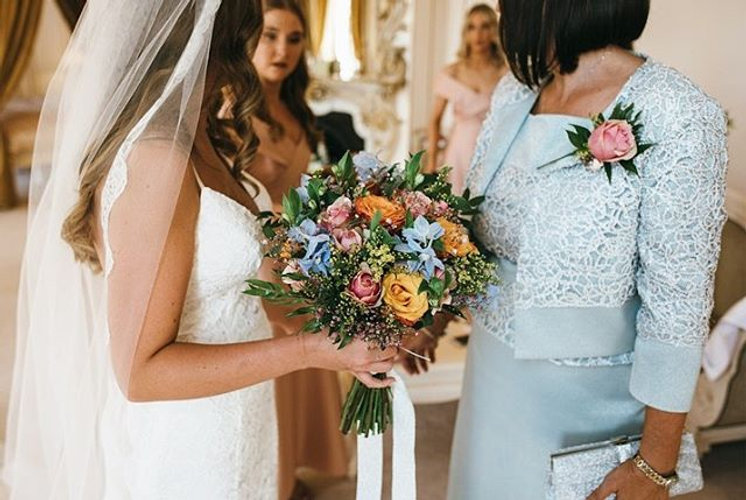 The bridal bouquet • Possibly the most i