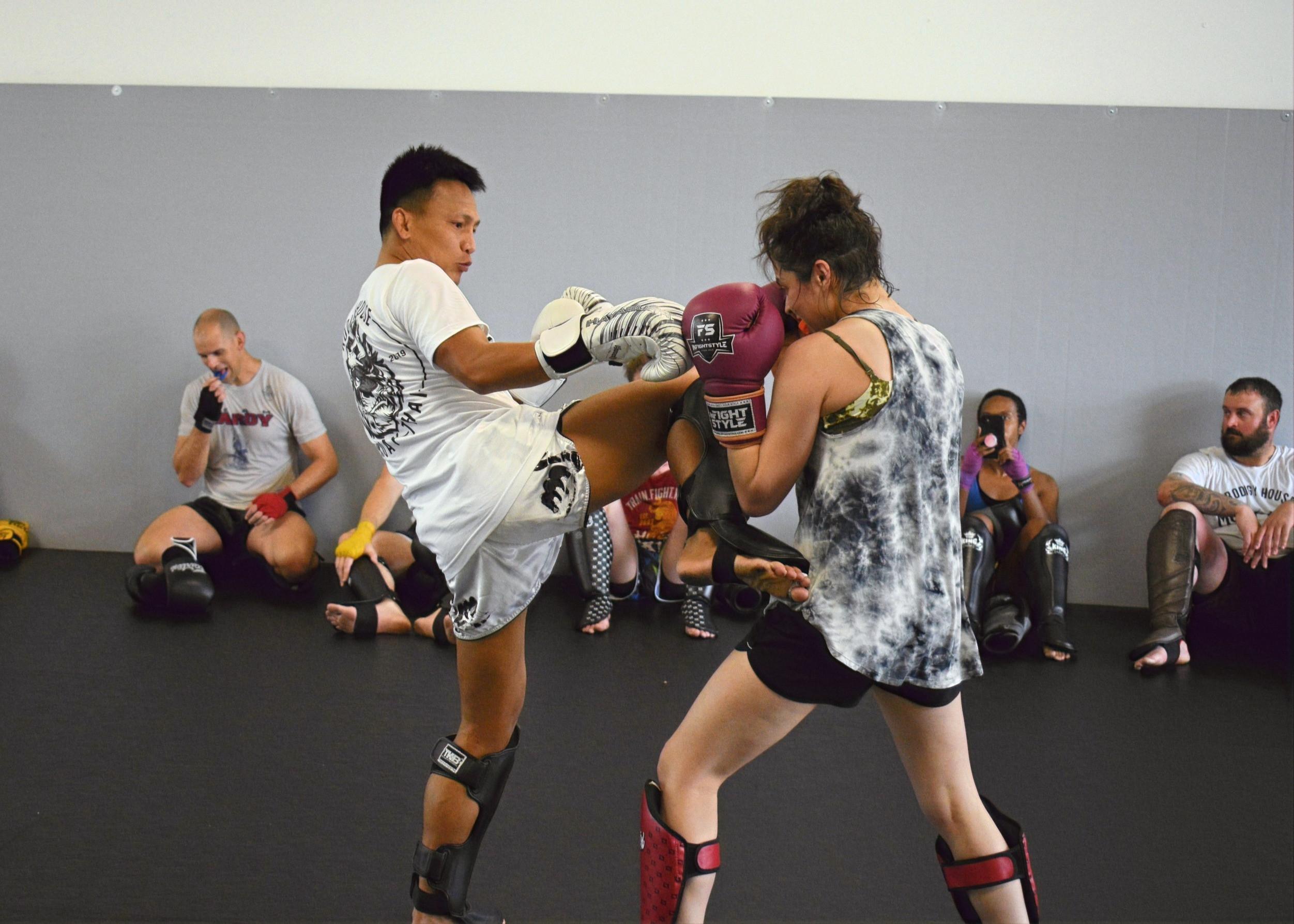 Striking for MMA
