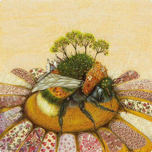 Placemat Bumblebee Orchard