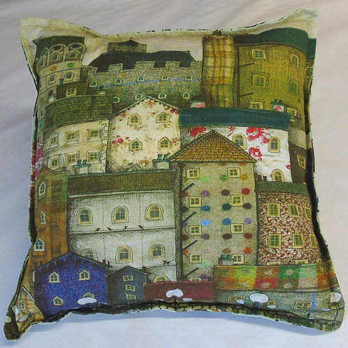 Tweedy Tenements Cushion