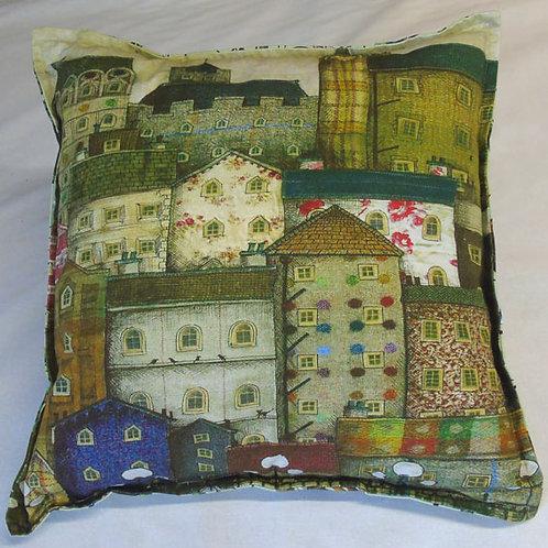 Tweedy Tenements Cushion