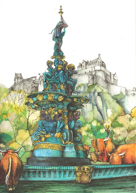 Rewilding The Ross Fountain
