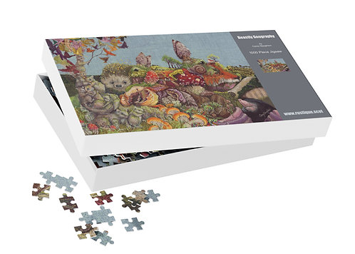 Jigsaw Puzzle Beastly Geography