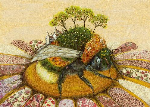Bumblebee Orchard Card