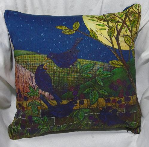 Cushion Cover 4 Colly Birds