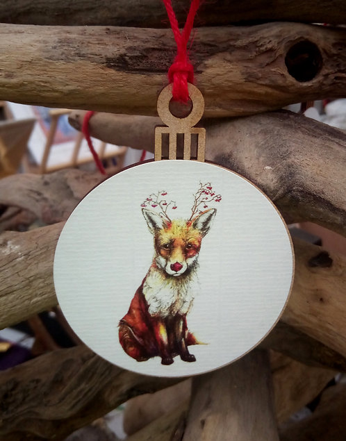 Fox Bauble
