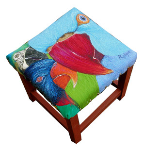 parrot faces footstool.jpg