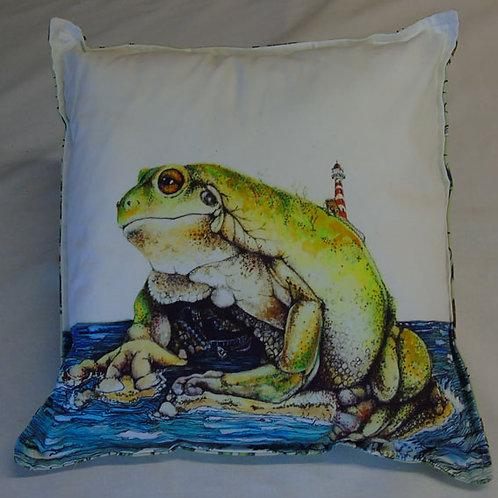 Frog Island Cushion