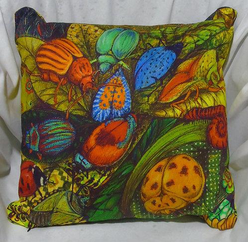 Cushion Cover Beautiful Bug Ball