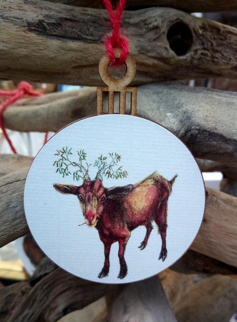 Goat Bauble
