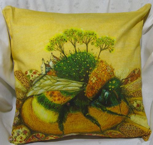Cushion Cover Bumblebee Orchard
