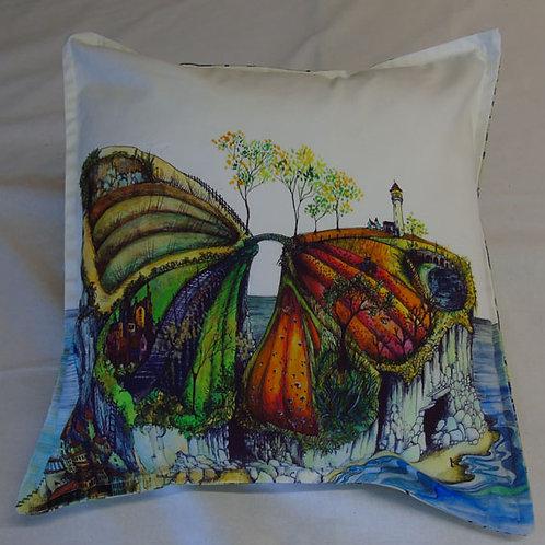 Butterfly Island Cushion