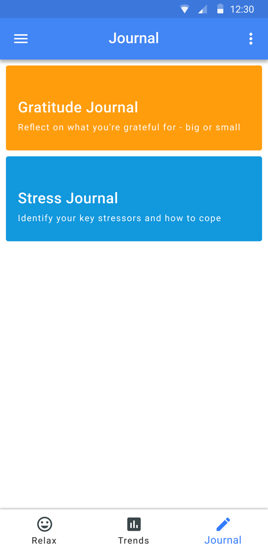 stress journal