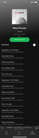 recommended playlist
