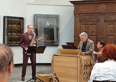 Raaf Hekkema & Aart Bergwerff 27 juni 2020 in Haarlem