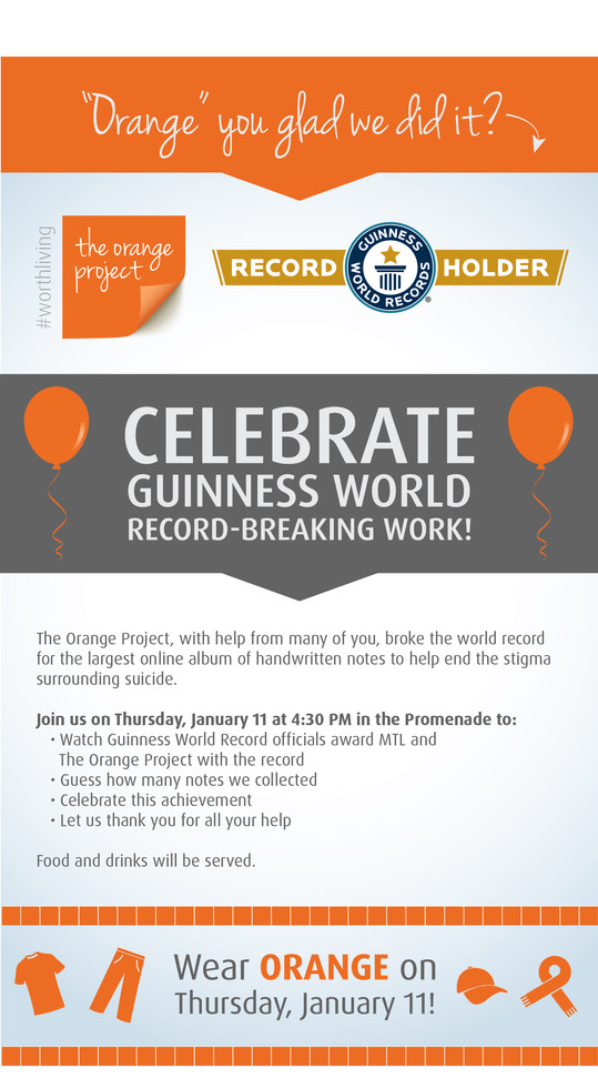 Celebration Email