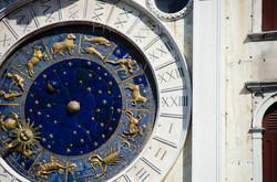 Clock along San Marco