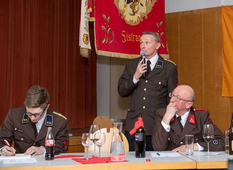 126. Jahreshauptversammlung der FF Sistrans
