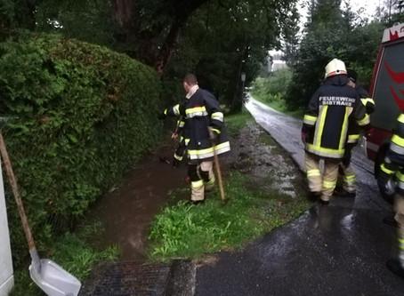 Wasserschaden/ Unwetterlage