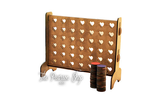Connect 4 Hearts Game