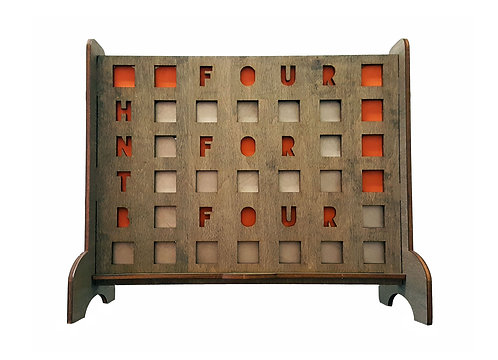 Personalized Connect 4 Squares Game