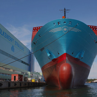 Maersk Containerschiff