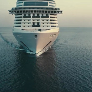 MSC Kreuzfahrtschiff