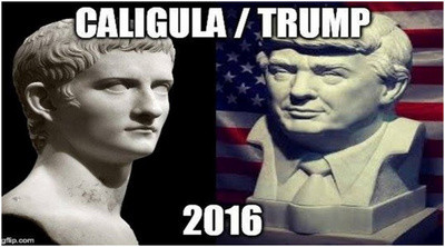Trump as Caligula