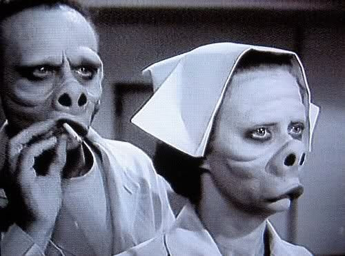 Pig People from the Twilight Zone