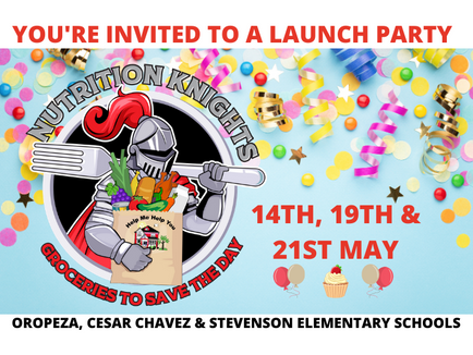 PRESS RELEASE: Join The Nutrition Knights Launch Festivities At Long Beach Schools
