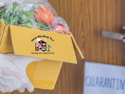 PRESS RELEASE: Help Me Help You Delivers Food Pantry Directly to Residents Affected by COVID-19