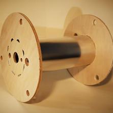 Plywood Metal Spools