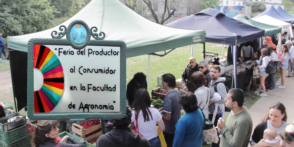 Feria del Productor al Consumidor en la Facultad de Agronomía - CABA
