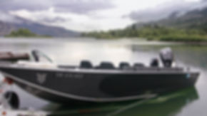 Kenai River Power Boat Example