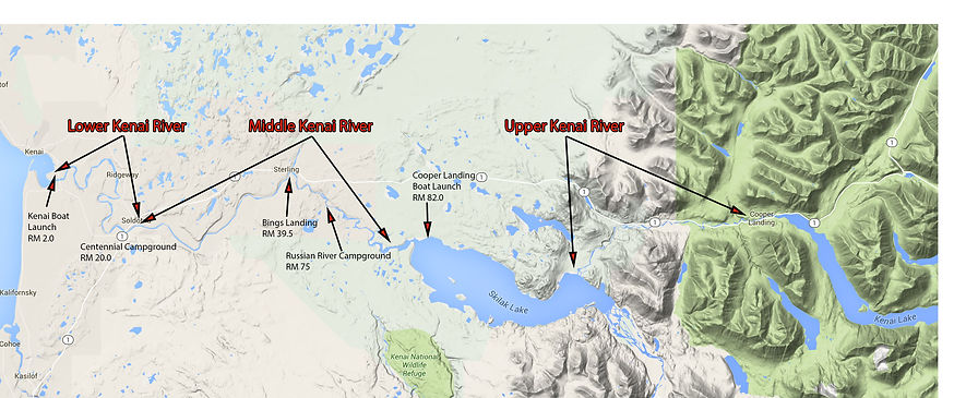 Kenai River Map