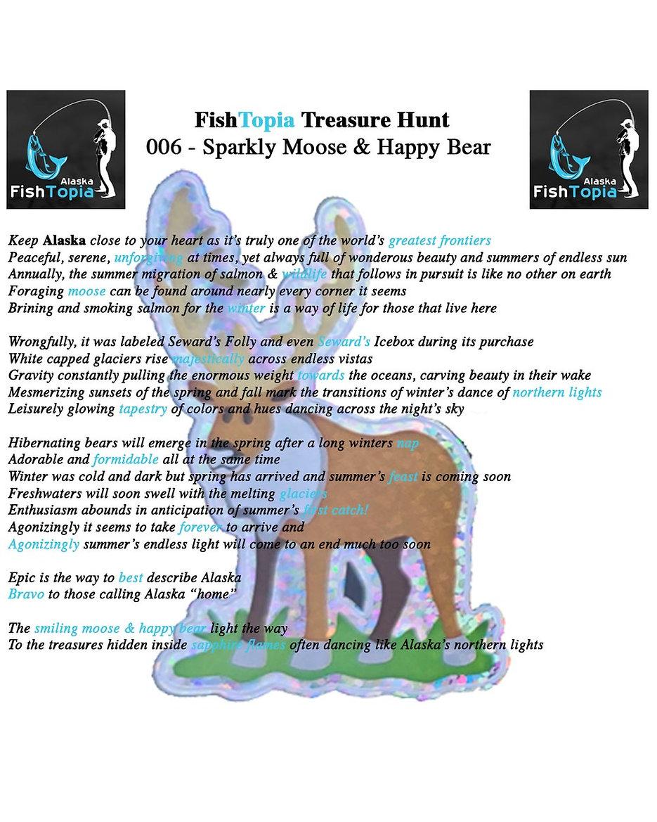 Alaska FishTopia Treasure Hunts - Hunt #6