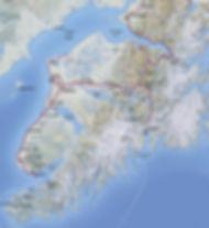 Kenai Peninsula Fishing Map
