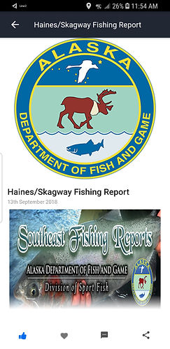 News and Fishing Reports specific page.j