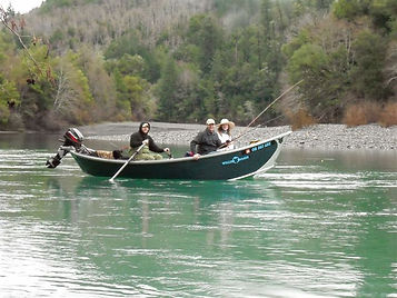 Kenai River Drift Boat Example