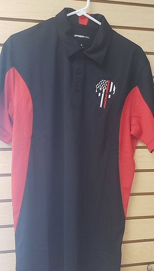 Thin Red Line Punisher Polo
