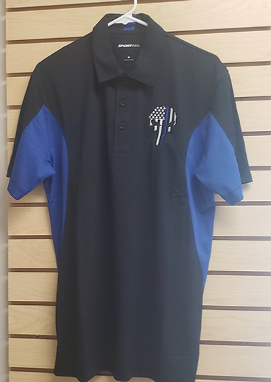 Thin Blue LIne Punisher Polo