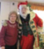 Santa with his Grandmother