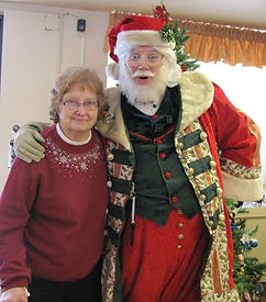 Santa with his Grandmother