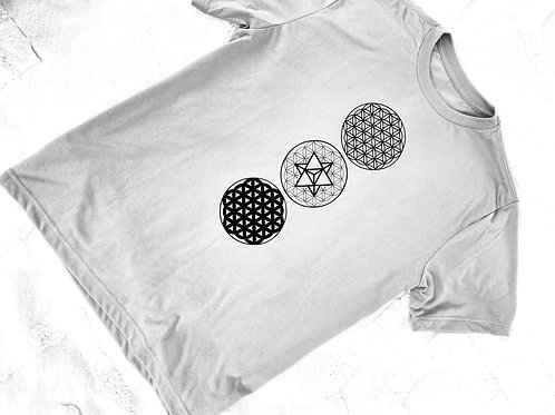 3 Flower of Life T-shirt